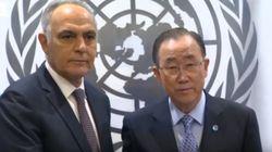 La poignée de main froide entre Ban Ki-moon et