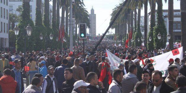 Manifestation monstre à Rabat pour protester contre les propos de Ban
