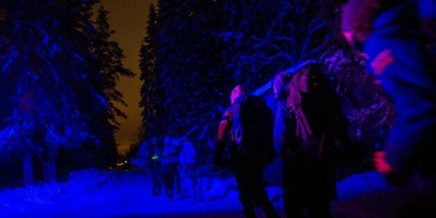 Des adolescents norvégiens jouent à être