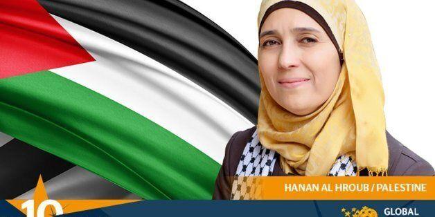 La Palestinienne Hanan al-Hroub désignée meilleure enseignante du