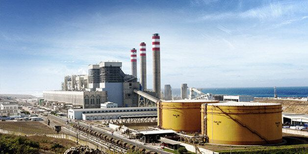 La centrale à charbon de Jorf Lasfar, située à 20 kilomètres d'El Jadida, à proximité du Port de Jorf