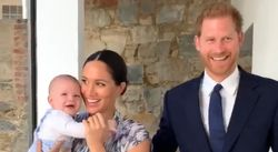 Prince Harry And Meghan Markle Share Adorable Video Of Smiling Baby Archie In South