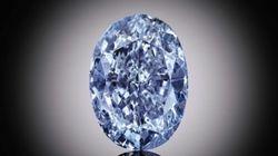 Un rare diamant bleu pourrait battre des records de vente en dépassant les 30 millions de