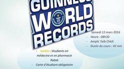 À Rabat, les étudiants en médecine battront un record