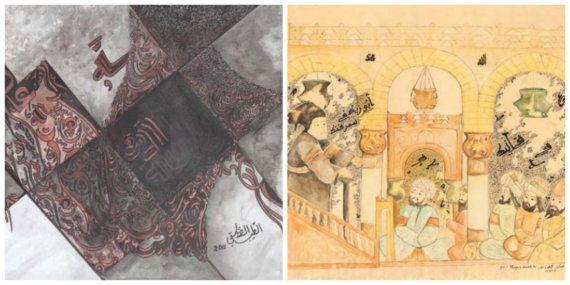 Maroc: Deux tableaux de Tayeb Saddiki mis aux enchères à