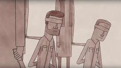 Un dessin animé explique ce que ça fait de vivre sous