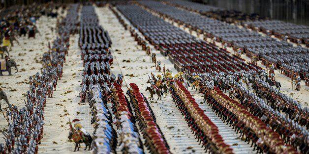 Un record du monde de Playmobil va être battu