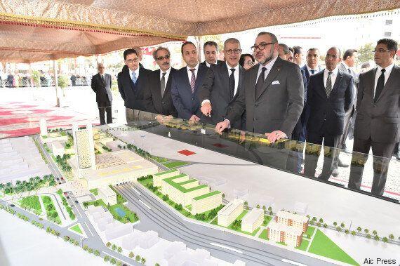 Mohammed VI lance les travaux de construction des nouvelles gares de