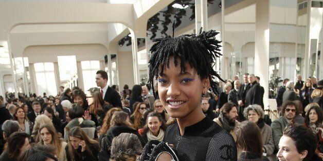 Willow Smith au défilé Chanel ce 8 mars à