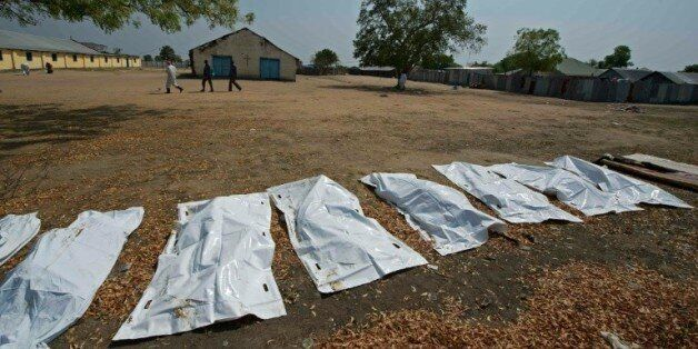 Des corps, a priori de civils, tués à Bor, au Soudan du Sud, le 27 janvier