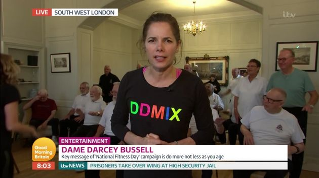 Darcey Bussell appeared on Good Morning Britain on