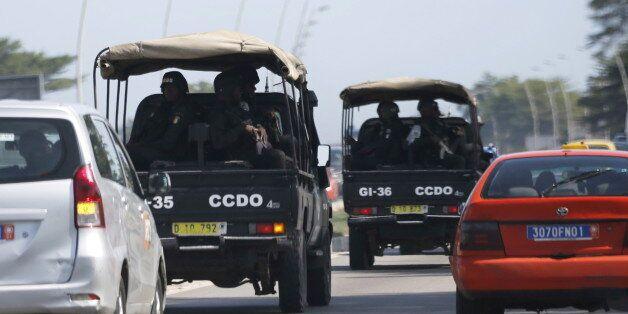 Des tirs entendus sur une plage de Grand-Bassam en Côte d'Ivoire, à proximité des