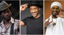 Keziah Jones, Marcus Miller et Omar Sosa à