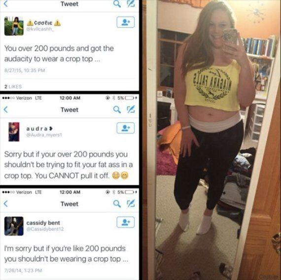 Elle démonte les préjugés sur son corps en postant quatre photos sur Twitter