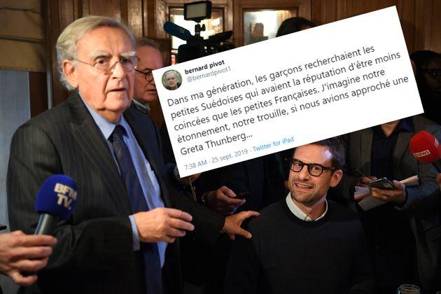 Bernard Pivot assume son tweet sexiste sur Greta