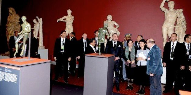 Mohammed VI inaugure l'exposition