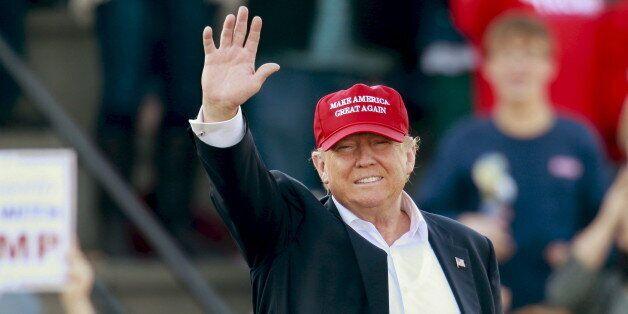 Donald Trump, le 28 février 2016, à Madison dans