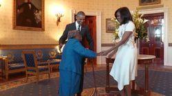 Cette centenaire qui danse à la Maison Blanche va illuminer votre
