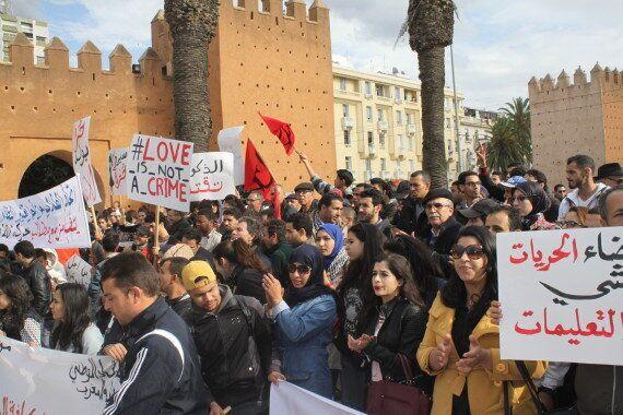 Reportage: La célébration du Mouvement du 20 février à Rabat