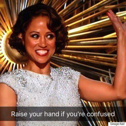 #OscarsSoWhite - Le prix du moment le plus bizarre des Oscars va à... Stacey