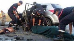 7 morts et 7 blessés dans un accident de la circulation près