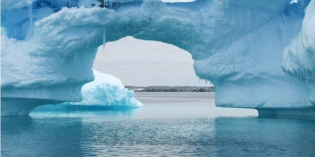 Un iceberg en Antartic, le 2 janvier