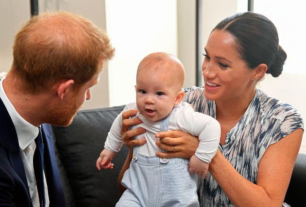El detalle 'low cost' del primer acto oficial de Archie, el hijo del príncipe Enrique y Meghan