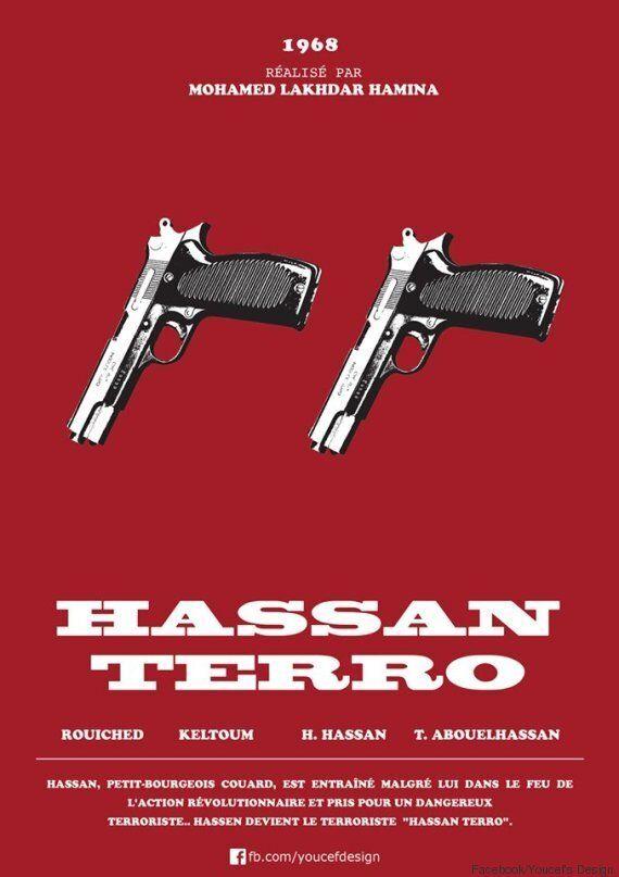 Les posters des films cultes algériens
