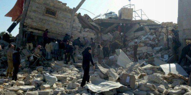 Syrie: Le bombardement d'un hôpital de Médecins sans frontières fait 25