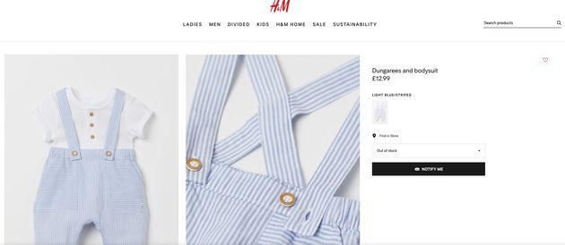 Captura de pantalla de la web de