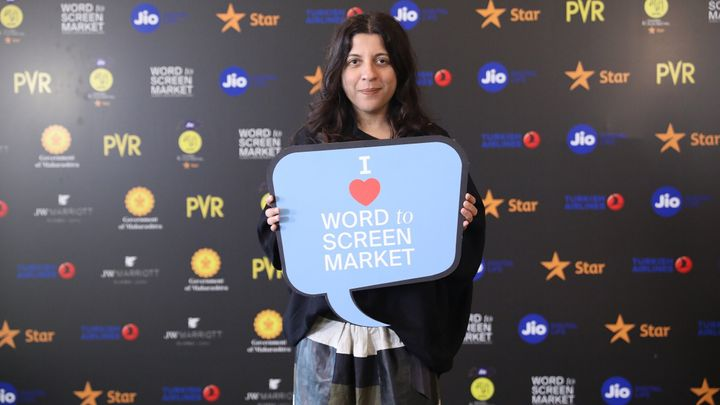 Zoya Akhtar at MAMI's word to screen market at Juhu's JW Marriott hotel