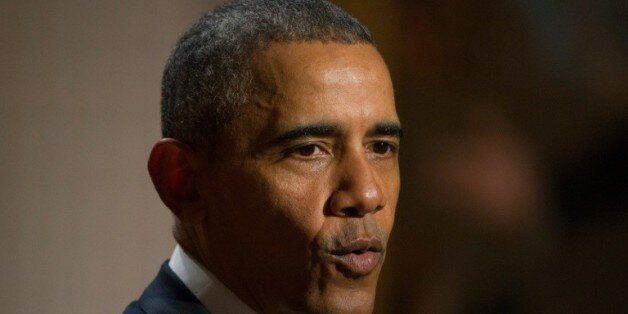 Le président Barack Obama le 24 février 2016 à
