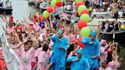 Un bateau marocain à la Gay Pride