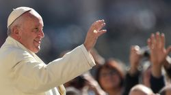 Le pape François parle