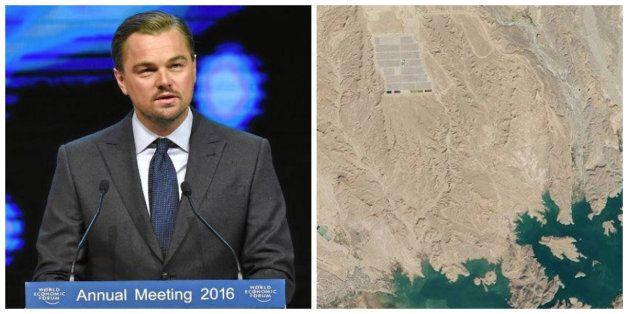 Quand Leonardo DiCaprio fait la promo de la centrale solaire de Ouarzazate