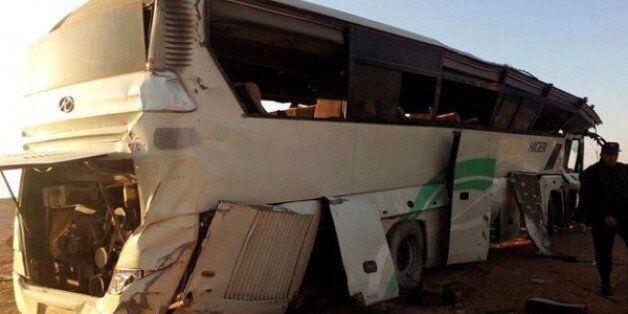 Laghouat : 4 morts et 35 blessés suite au renversement d'un bus de voyageurs près de