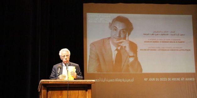 L'hommage de Hamrouche à Hocine Aït Ahmed le fondateur :