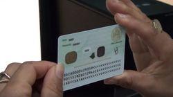 Délivrance de la première carte d'identité biométrique