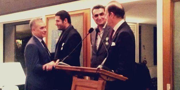 Farid Bensaid, Nabil Ayouch et Hicham Lahlou décorés par la France à