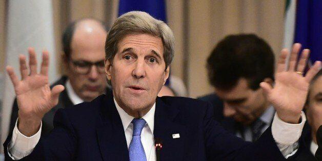 Le secrétaire d'Etat américain John Kerry, à Rome, le 2 février