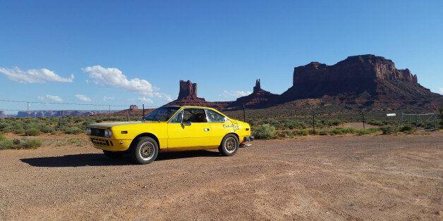 Wayne Kashman a fait l'aller-retour d'Edmonton à la Basse-Californie dans une Lancia de 40 ans