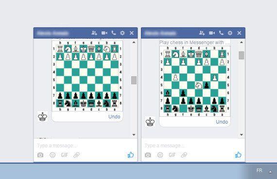 Facebook a caché un jeu d'échecs dans Messenger, voilà comment y