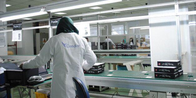 Condor, première marque algérienne au salon de la téléphonie de