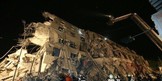 Taïwan: un puissant séisme de magnitude 6,4 fait 5 morts et 300