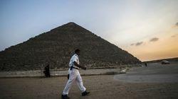 Les touristes ont déserté les pyramides d'Egypte
