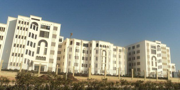 Une vue de l'université Belgaïd II à