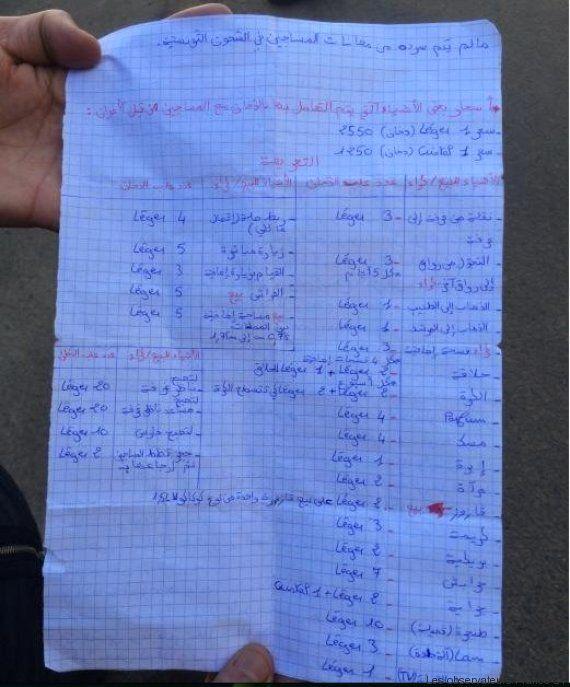 Tunisie: En prison tout s'achète par des