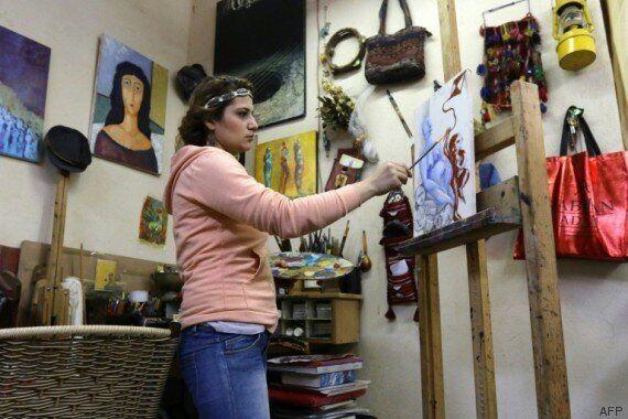 Les ruines de la vieille ville de Homs inspirent les artistes