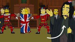 L'hommage prémonitoire des Simpson à David Bowie et Alan