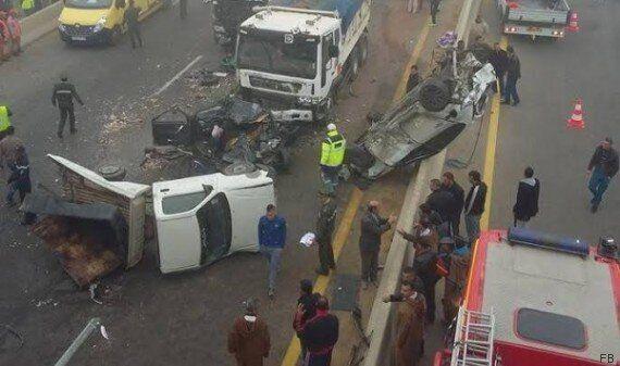 Un terrible accident de la route à Boukadir